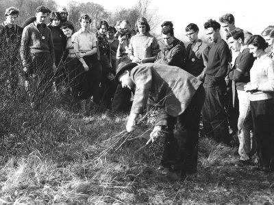 Conservation Corps. Box Hill, Surrey. 1959